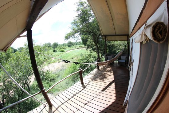 Garonga Safari Camp: Terrasse