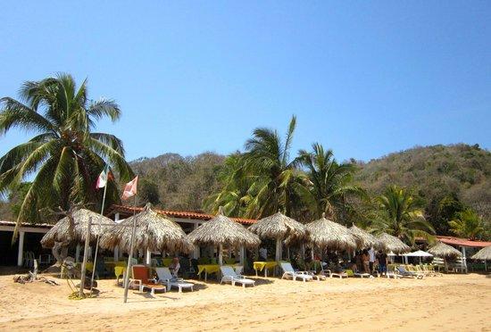 El Paraiso Escondido: The restaurant