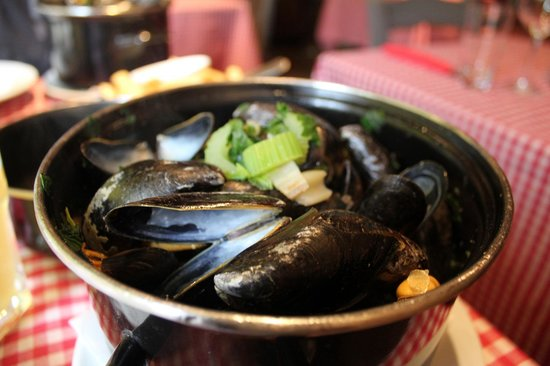 Mozarthuys: mussels