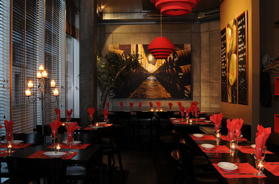Tapas del Mar: Restaurant