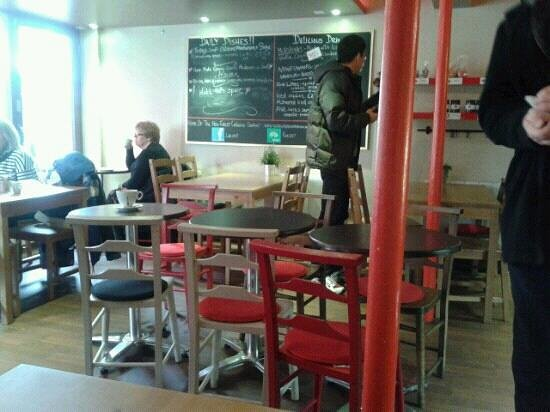 The Little Love Food Company: Inside cafe