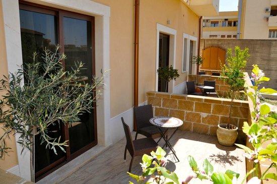 Hotel Flora: Junior Suite con veranda