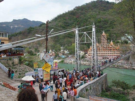 Lakshman Jhula Suspension Bridge