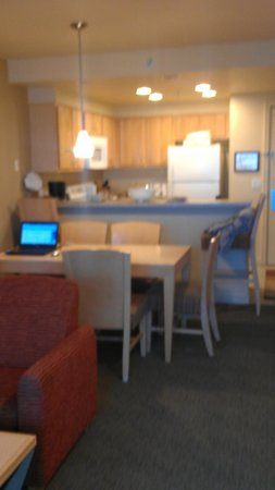 WorldMark by Wyndham Seaside: From living room, looking at kitchen