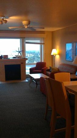 WorldMark by Wyndham Seaside: From kitchen looking at living room