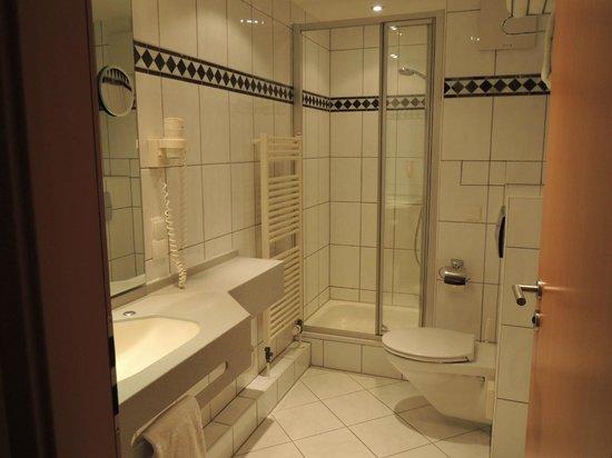 Favored Hotel Plaza: バスルーム