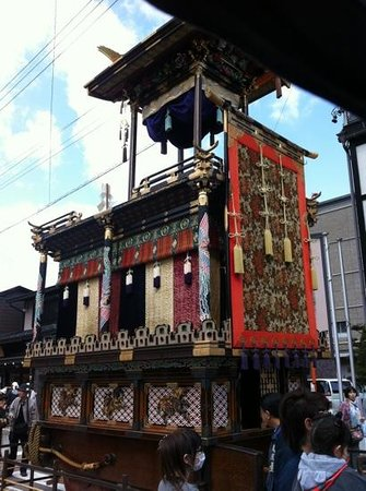 Oyado Yamakyu: another festival float