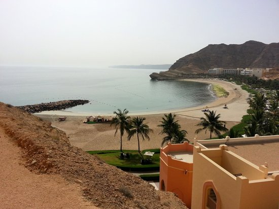Shangri La Barr Al Jissah Resort & Spa-Al Husn: View from balcony