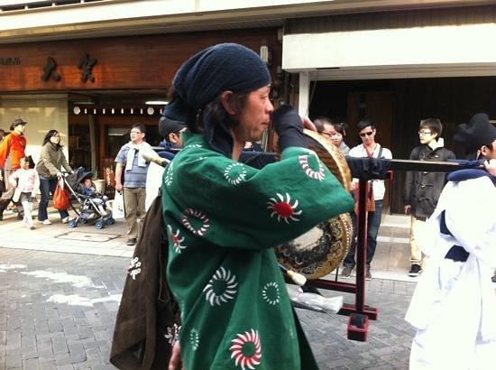 Oyado Yamakyu: Gojunko procession
