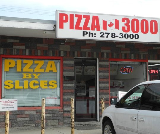 Pizza 3000 Bowness - April 2013