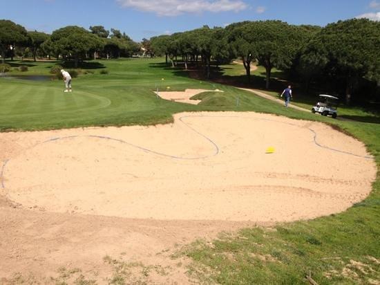 Lesters Golf: viele neue Bunker auf dem Pinahl Course