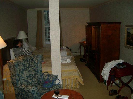 Hotel Manoir Victoria: Notre chambre