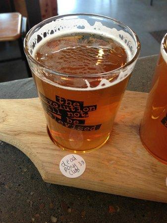 BrewDog Bristol: Very nice beer!