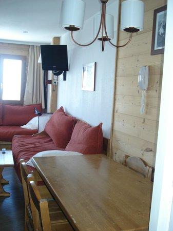 Pierre & Vacances Residence Saskia Falaise: salon/couchage enfants