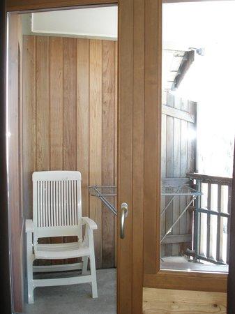 Apartamentos Pierre & Vacances Saskia Falaise: Le balcon