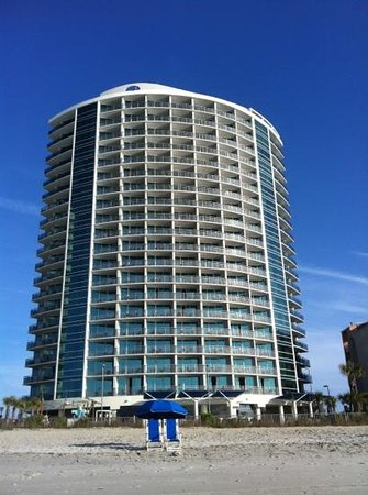 Oceans One Resort : from beach