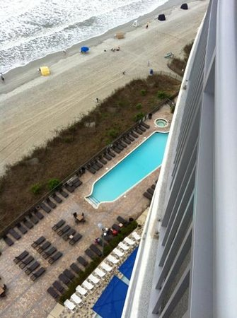 Oceans One Resort: 15th floor pool shot