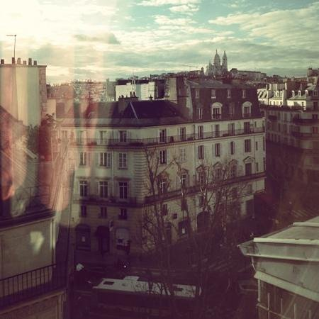 Art Hotel Lafayette: room with a view
