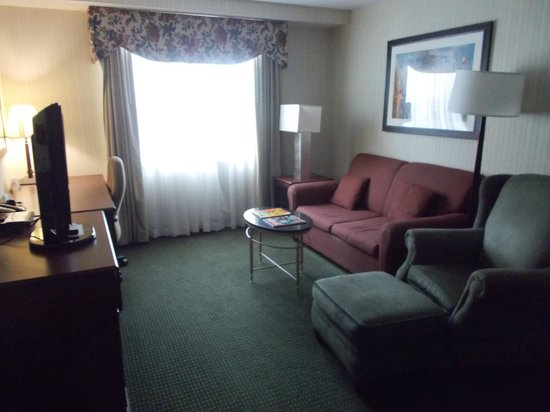 Homewood Suites by Hilton Buffalo-Airport : Living Room
