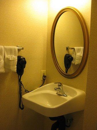 Comfort Inn: behindertengerechtes Bad