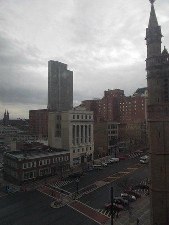 Hilton Albany: Skyline from Room