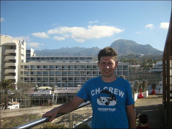 Hotel Gala: Uitzicht vanaf zwembad 2