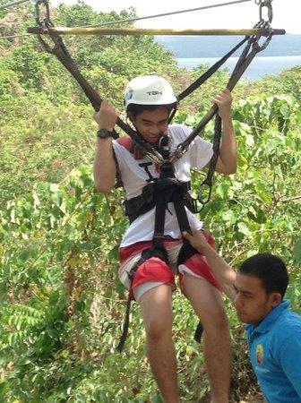 Zipline Boracay: zip line