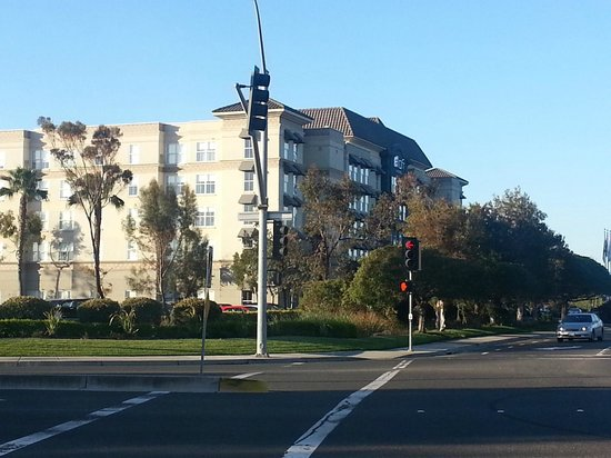 Aloft Silicon Valley : From across the street