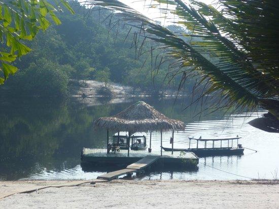 Amazon Ecopark Jungle Lodge: attracco