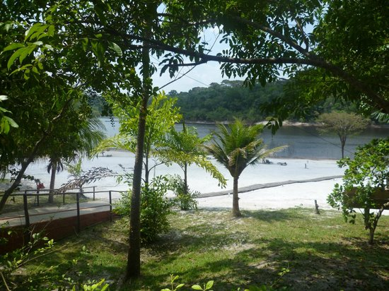 Amazon Ecopark Jungle Lodge: spiaggetta