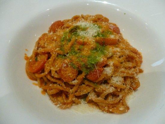 Tosca Restaurant: Chitarra al pomodoro e basilico