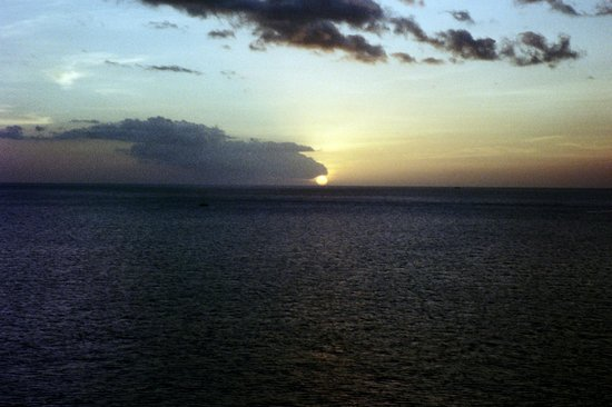 Barefoot Holidays Saint Lucia Day Tours: Caribbean sunset from Soufriere