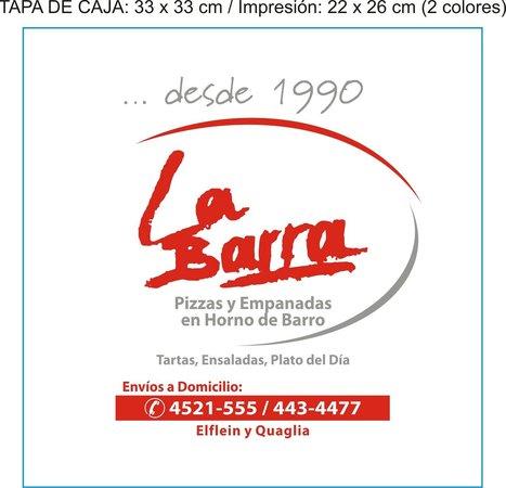 La Barra: PIZZAS-EMPANADAS-PASTAS-TARTAS-ENSALADAS