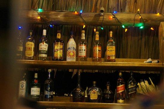 Villas Pico Bonito: the bar at Pico Bonito