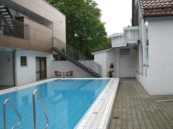 Hotel Nagel: inner yard