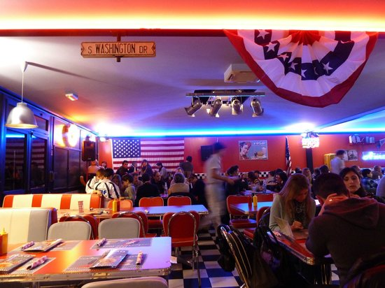 Hamburger Photo De 1950 American Diner Calenzano