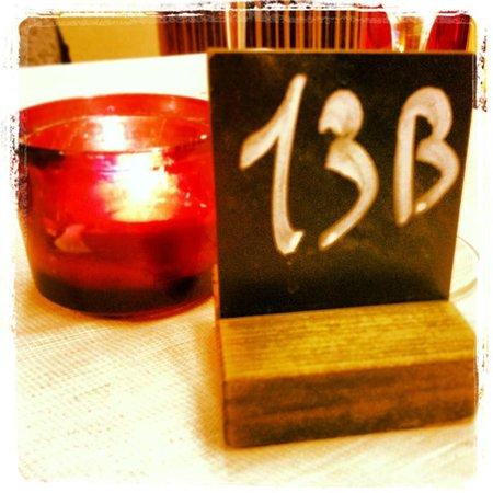 Terrazza Galatea: Il nostro tavolo!