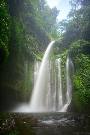 Sendang Gile and Tiu Kelep Waterfall: Second waterfall, is it worth it? Yes :)