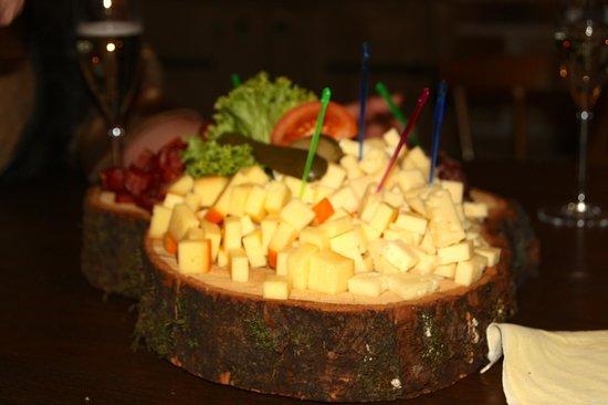 Sportcamp Woferlgut: lækker ost