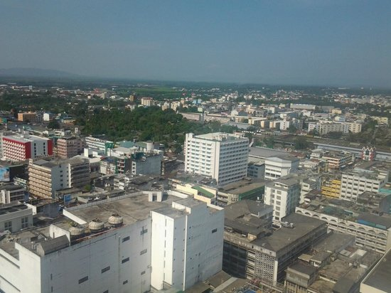 Lee Gardens Plaza: view from my room