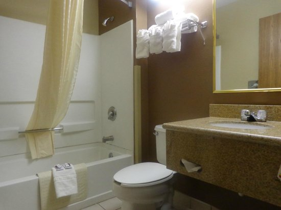 Desert Inn: bathroom
