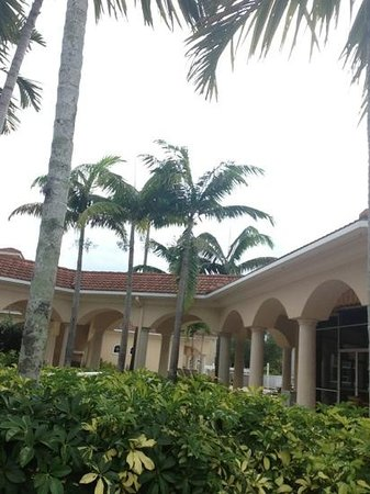 The Westin Cape Coral Resort At Marina Village: club house where 2 pools are located