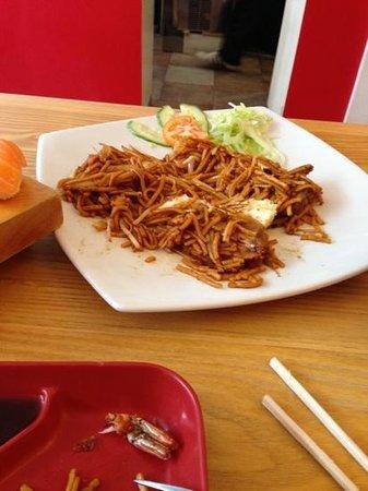 Sumo Noodle Bar: mixed special noodle dish