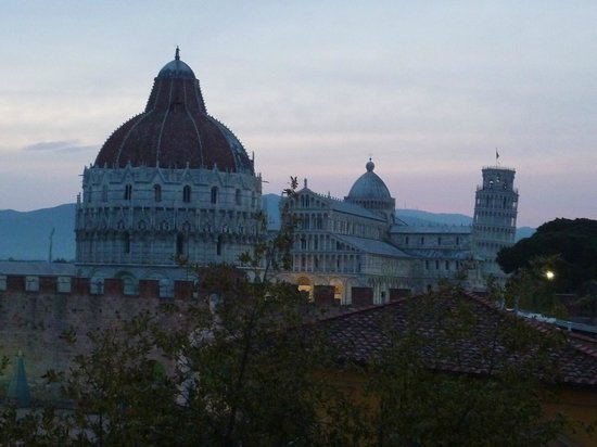 Hotel Roma: View from room 42