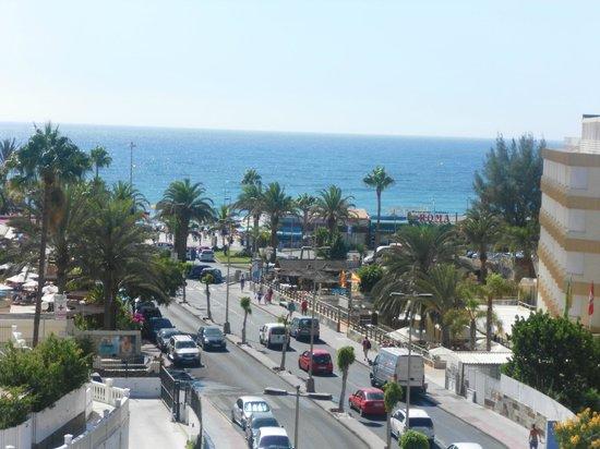 Las Gondolas Apartments : Panorama di Playa del Ingles