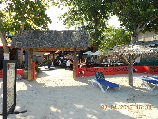 Bar-B-Barn: spiaggia