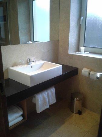 Hotel Bathroom Sink : Rochestown Park Hotel: Bathroom sink
