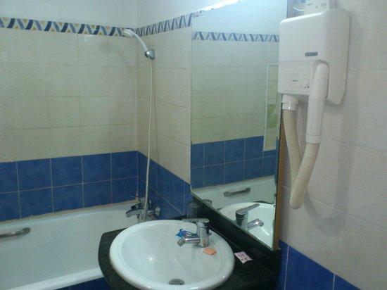 Hotel Timgad: salle de bain