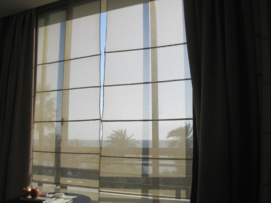 Almyra Hotel: View from my bed