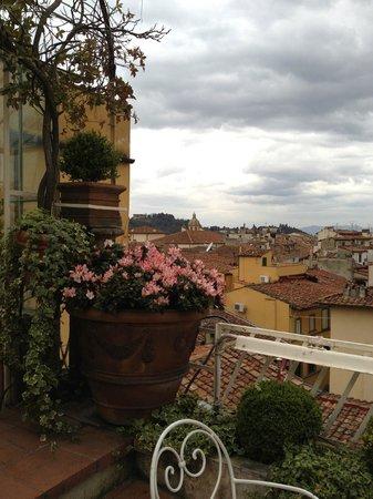 Hotel Tornabuoni Beacci: Tornabuoni Terrace